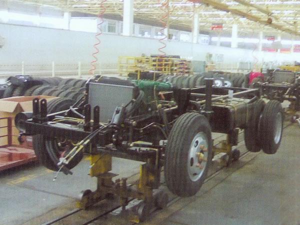 工程机械装配生产线
